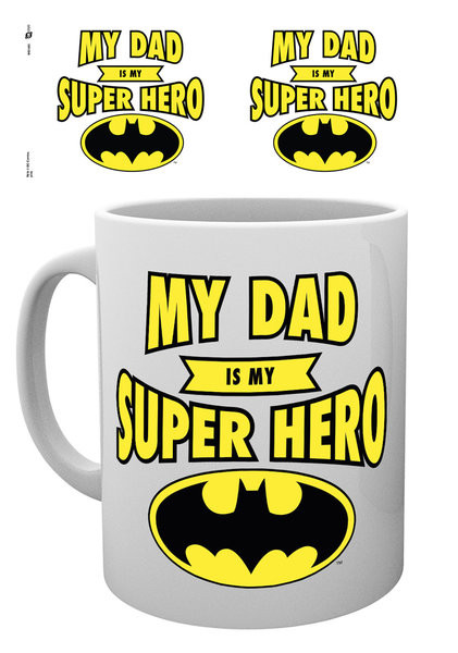 DC Comics - Batman Dad Superhero Mug