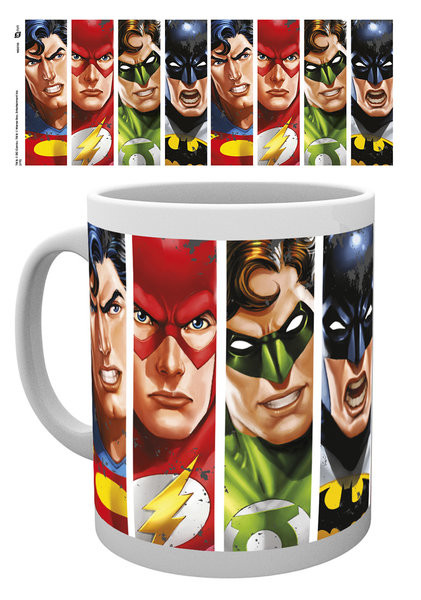 DC Comics - Justice League Faces Mug