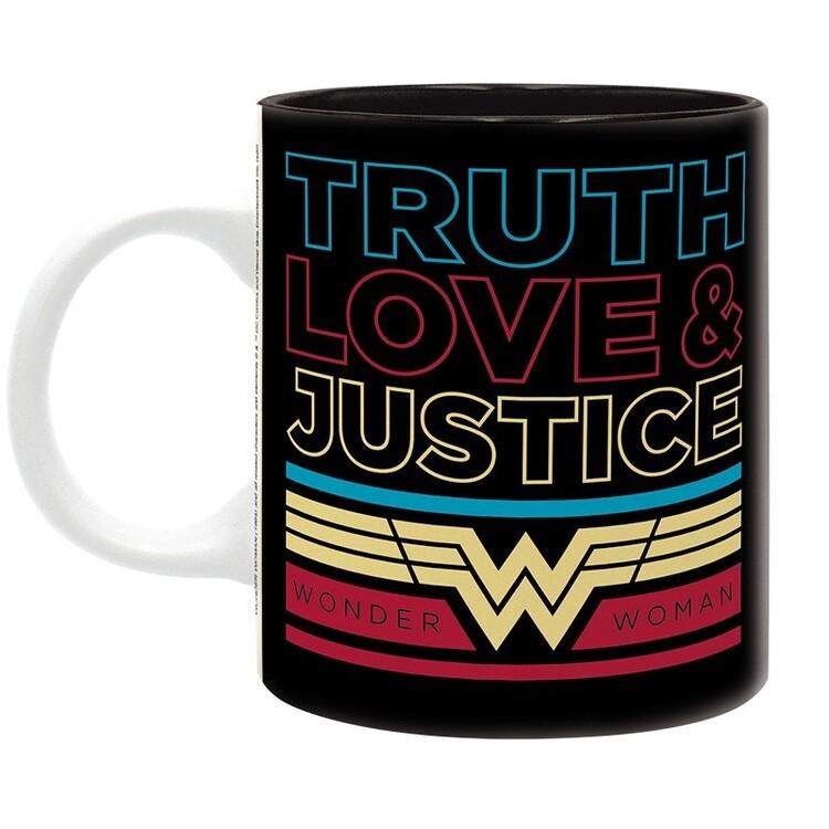 Cup DC Comics - retro Wonder Woman