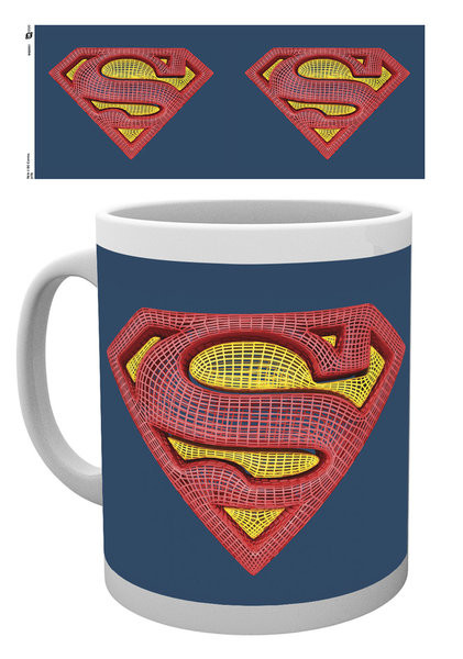 DC Comics - Superman Mesh Logo Mug