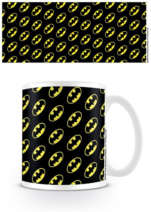 DC Originals - Batman Logo Pattern Mug