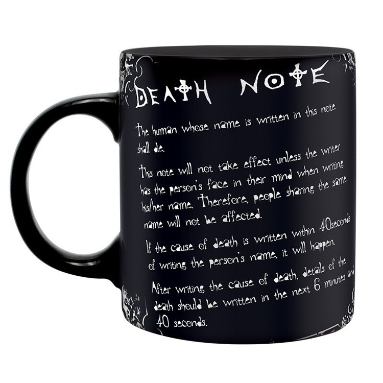 Cup Death Note - L & rules