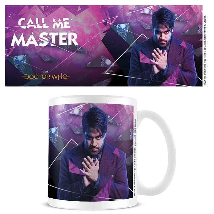 Cup Doctor Who - Call Me Master