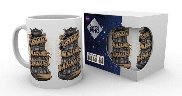 Doctor Who - Hipster Darlek Mug