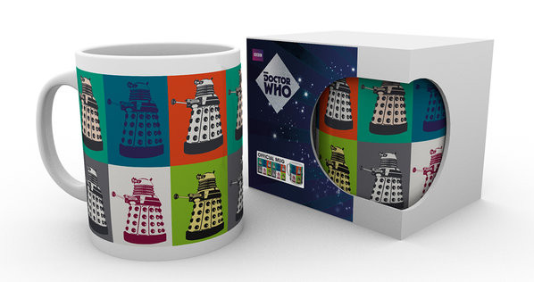 Doctor Who - Pop Art Mug