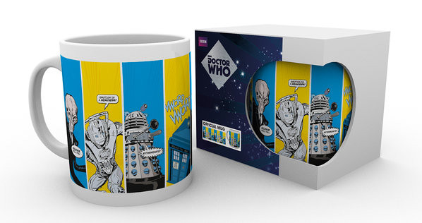 Doctor Who - Space Cadets Mug
