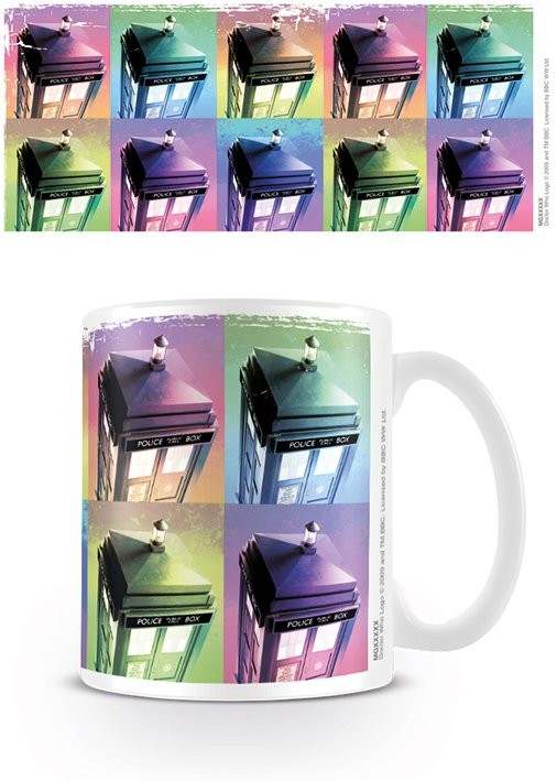 Doctor Who - Tardis Colour Mug