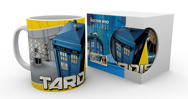 Doctor Who - Tardis Scene Mug