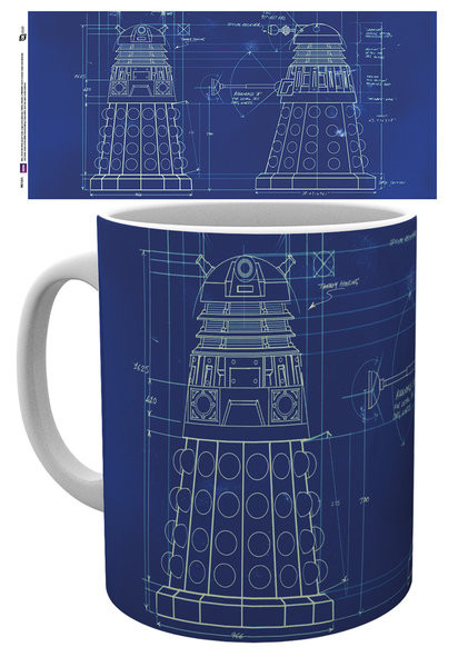 Doctor Who - Tardis Sign Mug