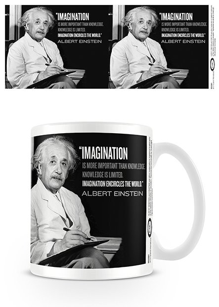 Einstein - Imagination Mug