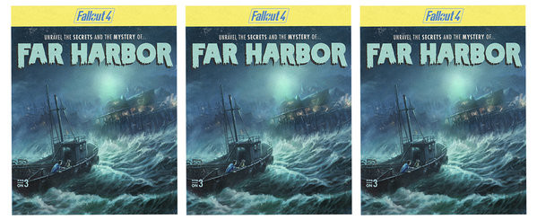 Fallout 4 - Far Harbor Mug
