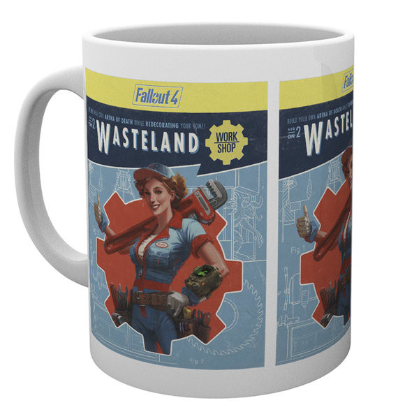 Fallout 4 - wasteland Mug