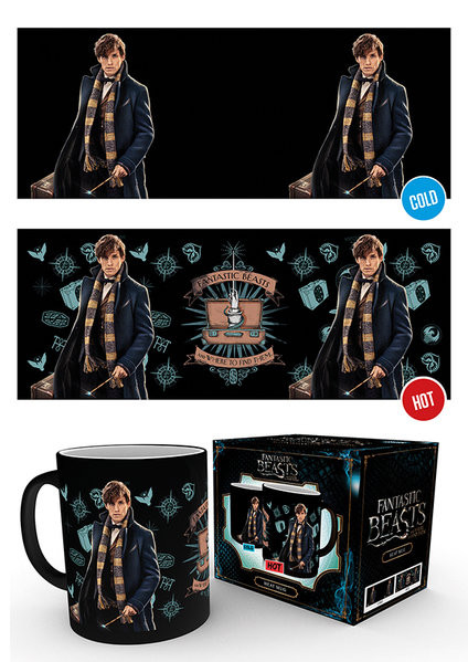Fantastic Beasts And Where To Find Them- Newt Scamander Mug