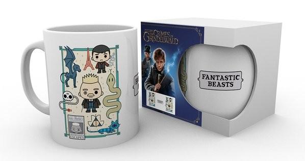 Cup Fantastic Beasts: The Crimes Of Grindelwald - Chibi Grindlewald