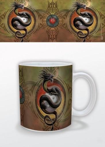 Fantasy - Yin Yang Protector, Anne Stokes Mug