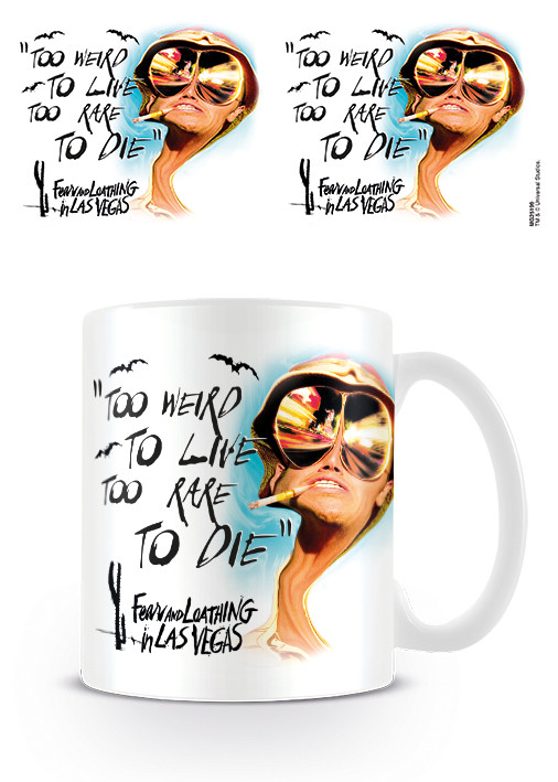Cup Fear and Loathing in Las Vegas - Too Weird To Live
