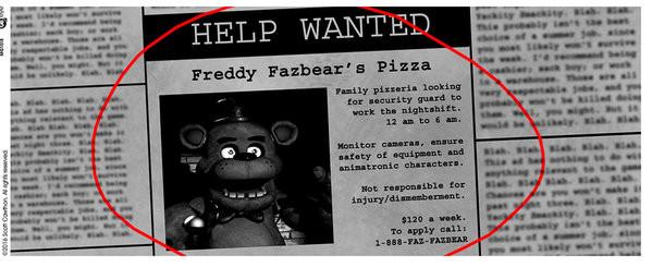 Five Nights At Freddy's - Help Wanted Mug