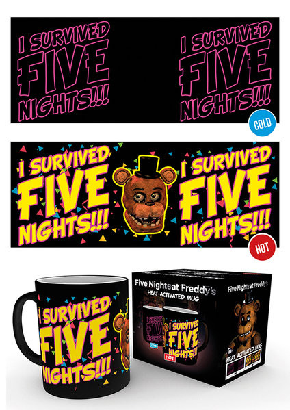 Five Nights at Freddy's - I Survived Mug
