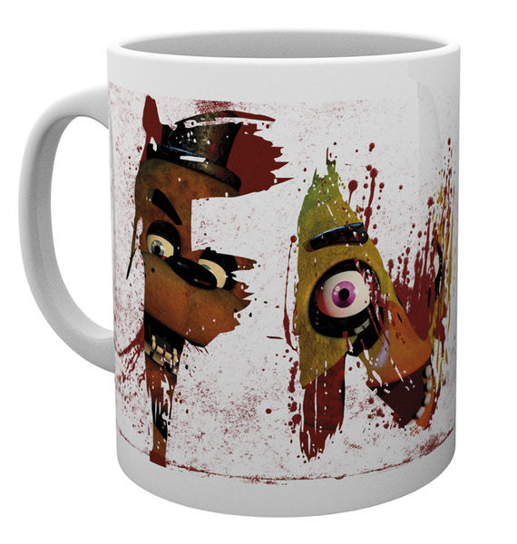 Five Nights At Freddy's - Letters Mug