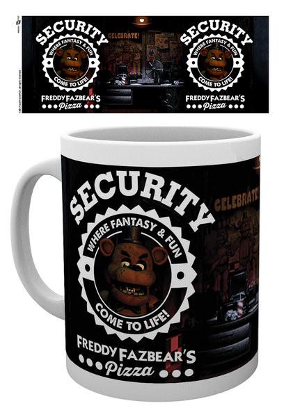 Five Nights At Freddy's - Security Mug