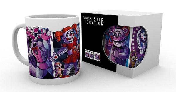 Five Nights At Freddy's - Sister Location Characters Mug