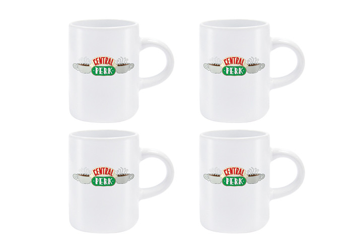 Friends Central Perk - Set 4pcs Original Espresso Mugs Mug