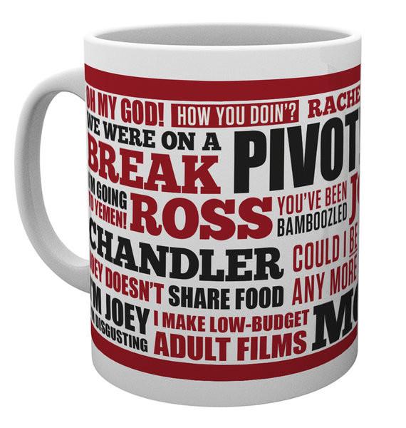 Friends TV - Quotes Mug