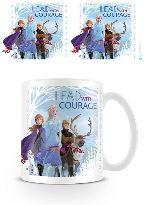 Frozen 2 - Lead With Courage Mug