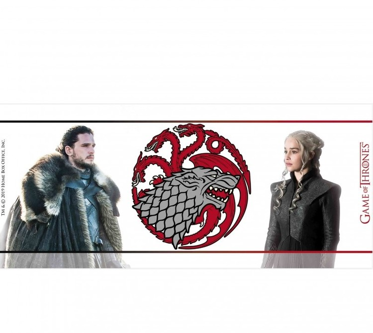 Game Of Thrones - Jon & Daenerys Mug
