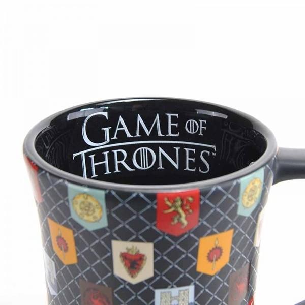 Game Of Thrones - Matt Glaze Sigils Mug
