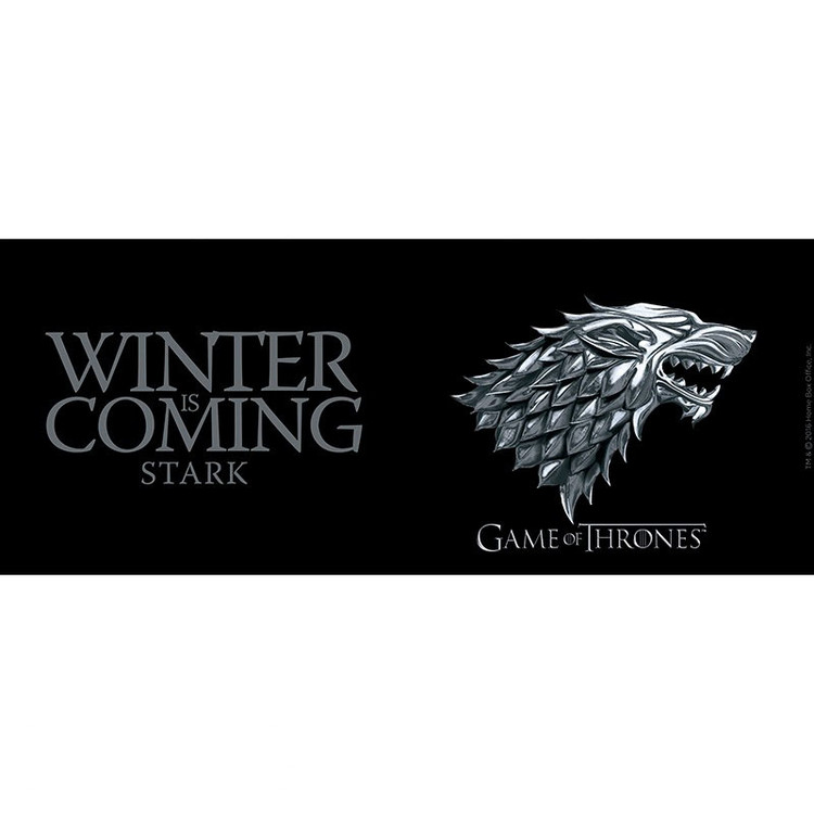Cup Game Of Thrones - Stark/Winter is coming