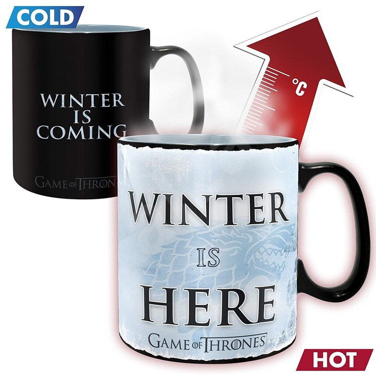 Game Of Thrones - Winter is here Mug