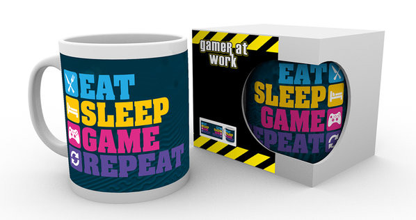 Gaming - Eat Sleep Mug