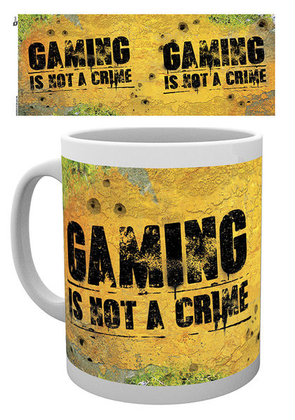 Gaming - Not A Crime Mug