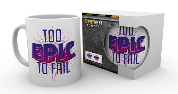 Gaming - Too Epic To Fail Mug