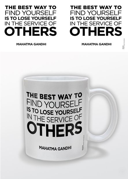 Gandhi – Service of Others Mug