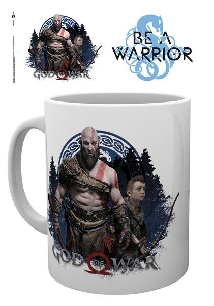 God Of War - Be A Warrior Mug