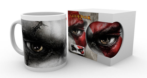 God of War - Kratos Eyes Mug