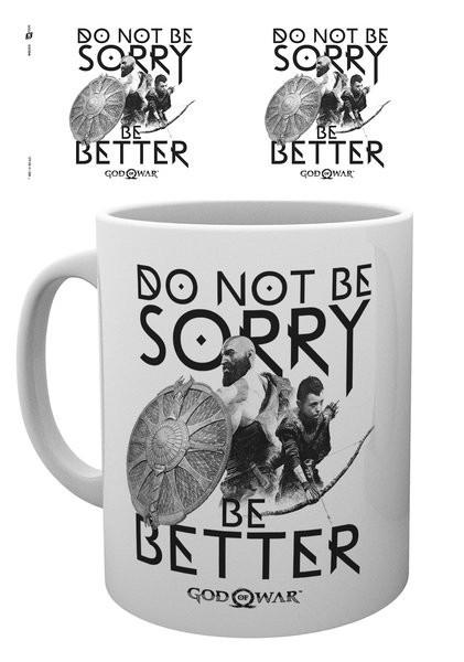 God Of War - Sorry Mug