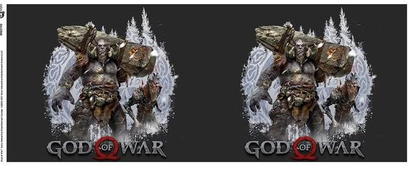 God Of War - Troll and Draugr Mug