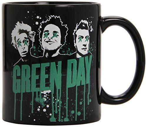 Green Day - Drips Boxed Black Mug