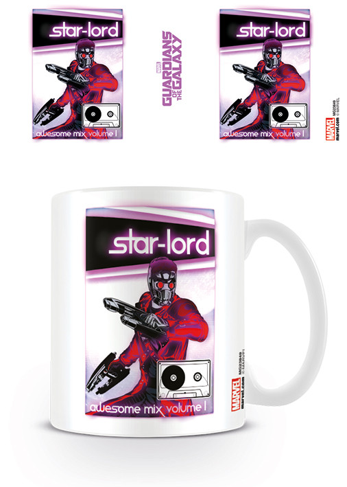 Guardians Of The Galaxy - Mix Tape Mug