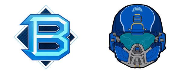Halo 5 - PVP Blue Mug