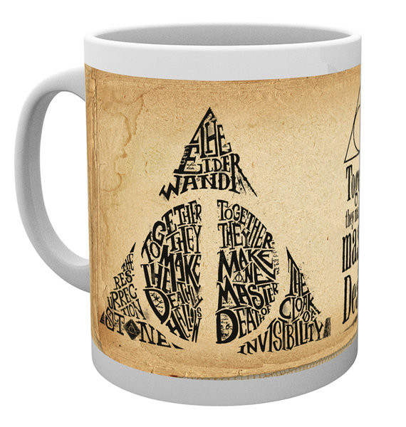 Harry Potter - Deathly Hallows Words Mug