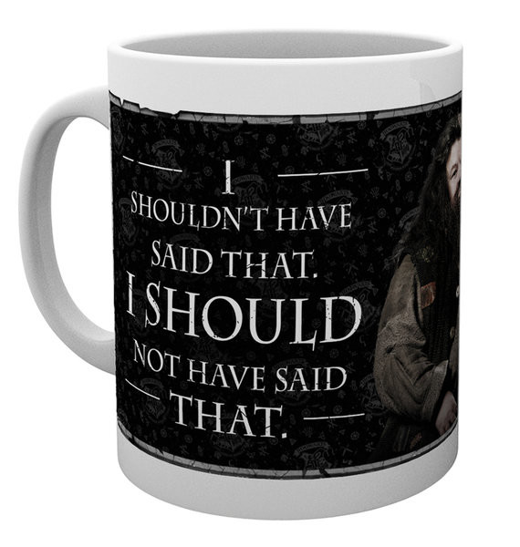 Harry Potter - Hagrid Quote Mug