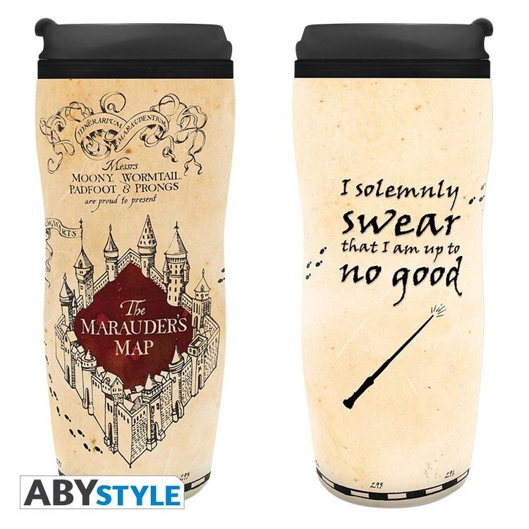 Travel mug Harry Potter - Marauder's Map
