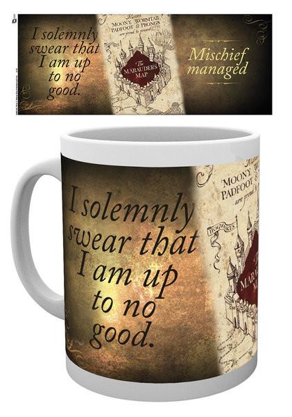 Harry Potter - Marauder's map Mug