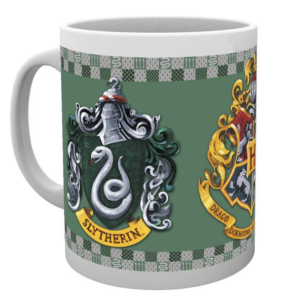 Harry Potter - Slytherin Crest Mug