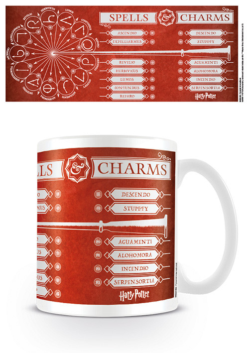 Harry Potter - Spells & Charms Mug