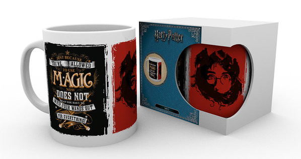 Harry Potter - Whip Your Wand Out Mug